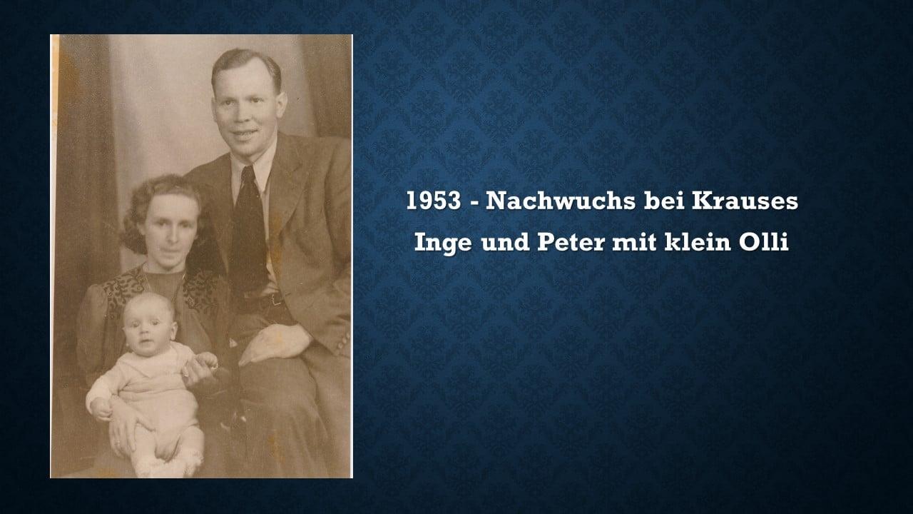 Inge, Peter und Klein-Olli